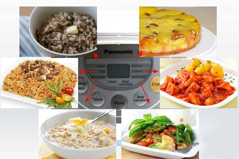 Отзывы и обзор мультиварки Panasonic SR-TMH18