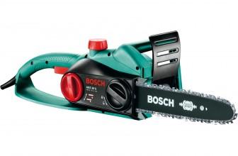 Отзывы и обзор электрической цепной пилы Bosch AKE 30 S