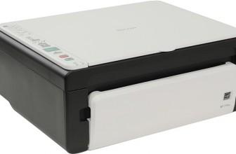 Отзывы и обзор лазерного черно-белого МФУ Ricoh SP 111SU